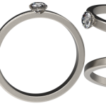 Make the special moment and special day with platinum ring